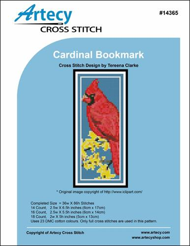 click here to view larger image of Cardinal Bookmark (chart)