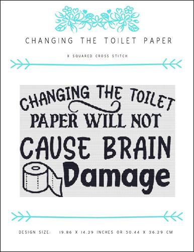 click here to view larger image of Changing the Toilet Paper (chart)