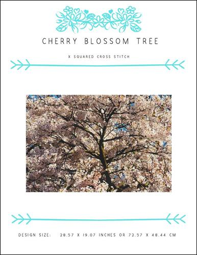 click here to view larger image of Cherry Blossom Tree (chart)