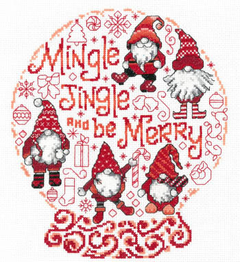 click here to view larger image of Lets Mingle and Jingle (chart)