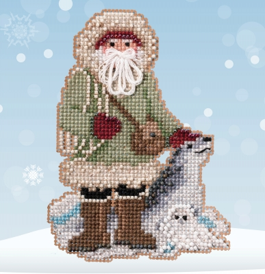 click here to view larger image of Antarctic Santas - Leopard Seal Santa  (2020)  (counted cross stitch kit)
