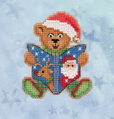 click here to view larger image of Teddy's Tale (2020) (counted cross stitch kit)