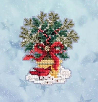 click here to view larger image of Evergreen Topiary (2020) (counted cross stitch kit)