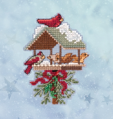 click here to view larger image of Winter Feast (2020) (counted cross stitch kit)