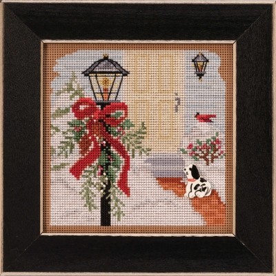 click here to view larger image of Christmas Welcome (2020) (counted cross stitch kit)