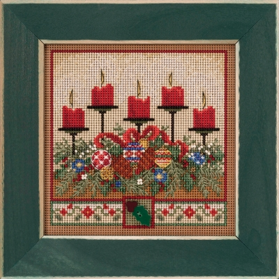 click here to view larger image of Holiday Glow (2020) (counted cross stitch kit)