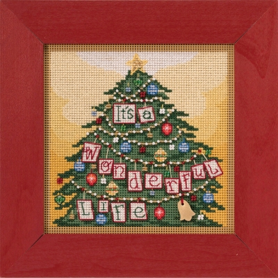 click here to view larger image of Its a Wonderful Life (2020) (counted cross stitch kit)