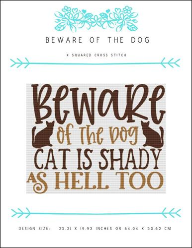 click here to view larger image of Beware of the Dog (chart)