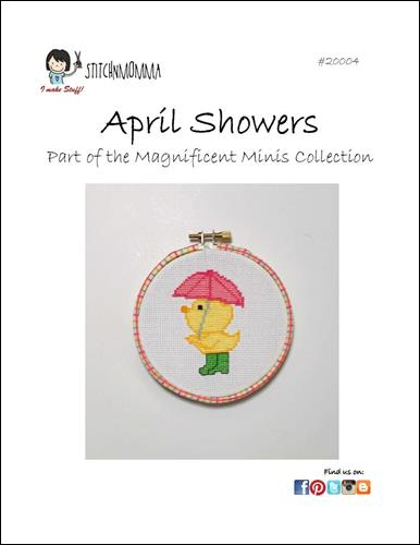 click here to view larger image of Magnificent Minis - April Showers  (chart)
