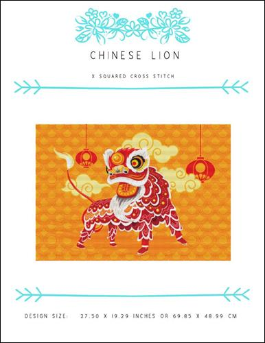 click here to view larger image of Chinese Lion (chart)