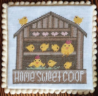 click here to view larger image of Springtime Series - Home Sweet Coop (chart)