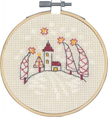 click here to view larger image of Church (counted cross stitch kit)