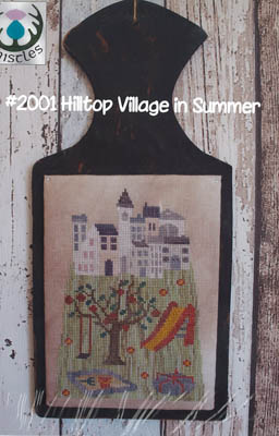 click here to view larger image of Hilltop Village in Summer (chart)