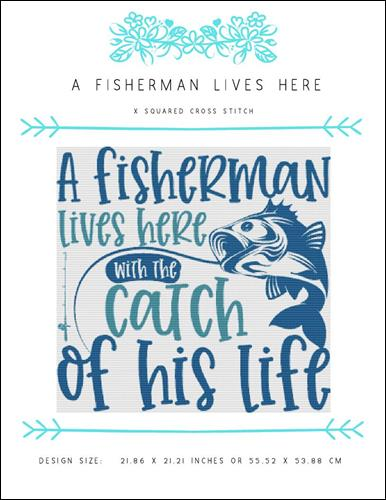 click here to view larger image of Fisherman Lives Here, A (chart)