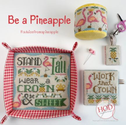 click here to view larger image of Be A Pineapple (chart)