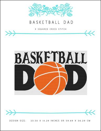 click here to view larger image of Basketball Dad (chart)