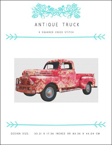 click here to view larger image of Antique Truck (chart)