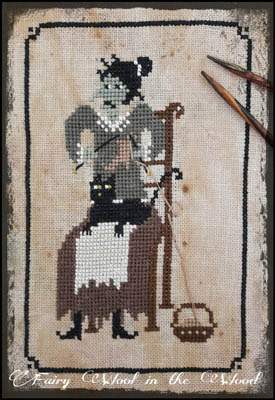 click here to view larger image of Cat of the Knitter Witch (chart)