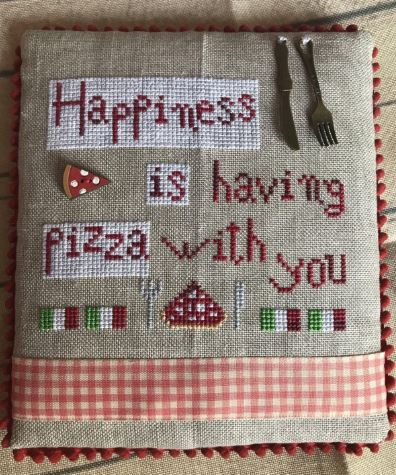 click here to view larger image of Happiness Is Pizza (chart)