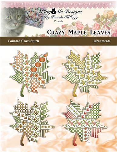 click here to view larger image of Crazy Maple Leaves Ornaments (chart)