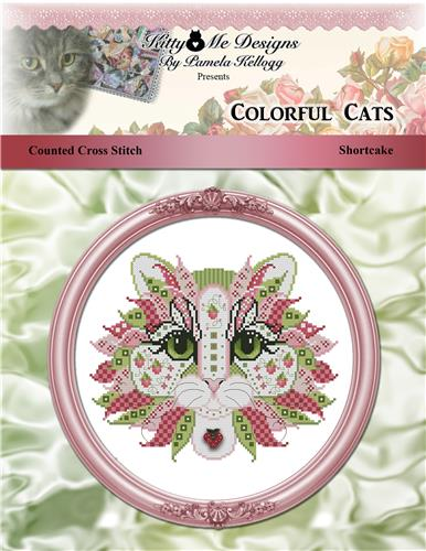 click here to view larger image of Colorful Cats - Shortcake (chart)