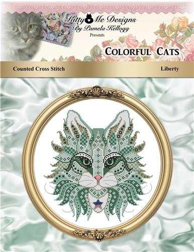 click here to view larger image of Colorful Cats - Liberty (chart)