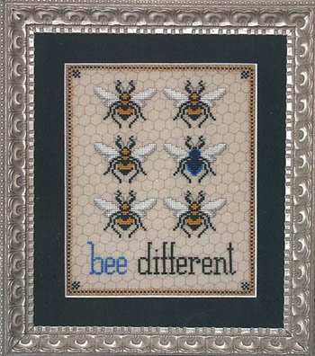 click here to view larger image of Bee Different (chart)