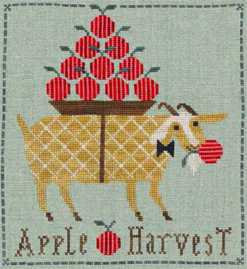 click here to view larger image of Giddy Goat Apple Harvest (chart)