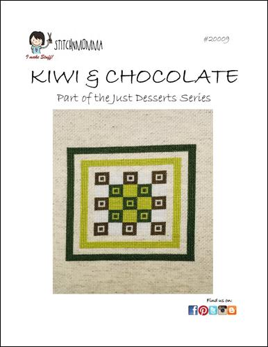 click here to view larger image of Just Desserts - Kiwi & Chocolate (chart)