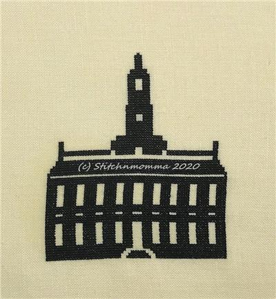 click here to view larger image of Independence Hall Silhouette (chart)