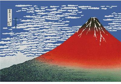 click here to view larger image of Mount Fuji in Clear Weather (large) (chart)