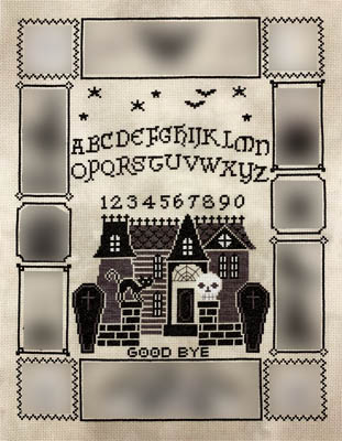 click here to view larger image of Halloween Ouija 2 (chart)