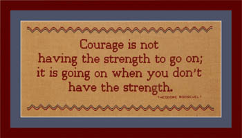 click here to view larger image of Courage (chart)