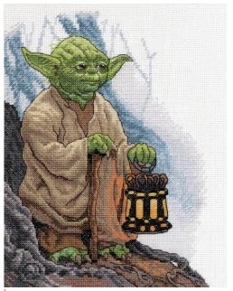 click here to view larger image of Yoda (counted cross stitch kit)