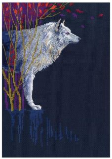 click here to view larger image of Wolf Leader (counted cross stitch kit)