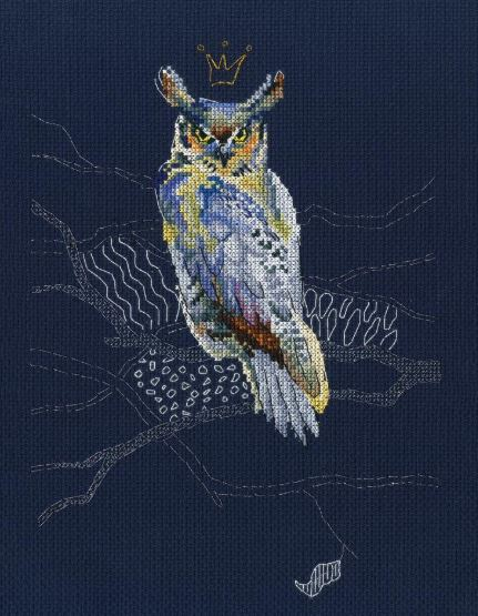 click here to view larger image of Night Watch (counted cross stitch kit)