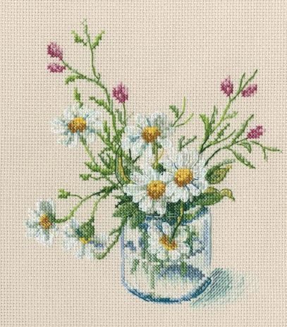 click here to view larger image of Warm Peace (counted cross stitch kit)