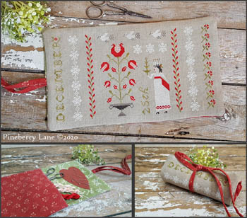 click here to view larger image of Christmastime Sewing Roll (chart)