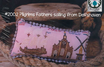 click here to view larger image of Pilgrims Fathers Sailing from Delfshaven (chart)
