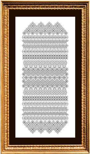 click here to view larger image of Blackwork Band Study 1 (chart)