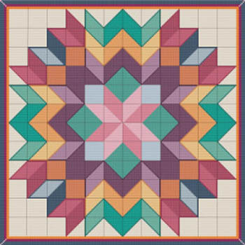 click here to view larger image of Cross Stitch Quilt 6 (chart)