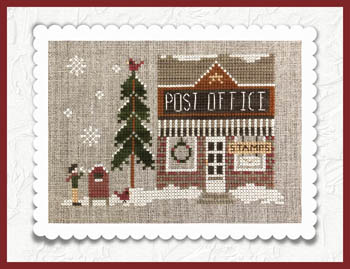 click here to view larger image of Hometown Holiday - Post Office (chart)