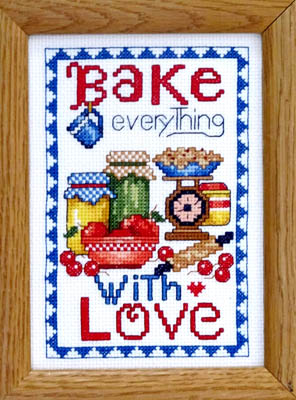 click here to view larger image of Bake Everything with Love (chart)