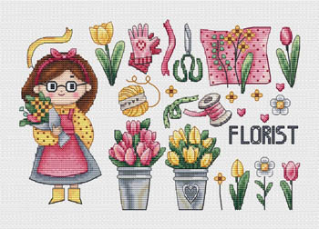 click here to view larger image of Florist (chart)