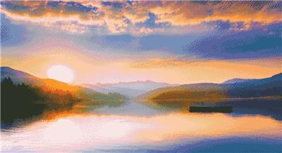 click here to view larger image of Peaceful Lake (chart)