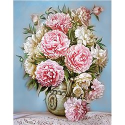 click here to view larger image of Puff Peonies (bead kit)