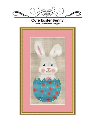 click here to view larger image of Cute Easter Bunny  (chart (special))