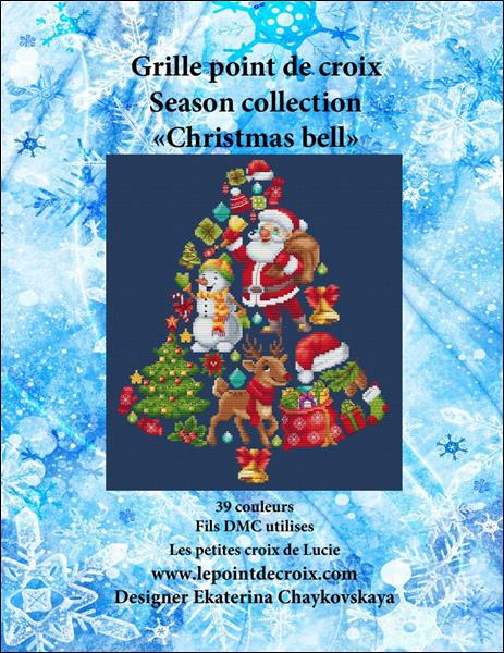 click here to view larger image of Christmas Bell (chart (special))