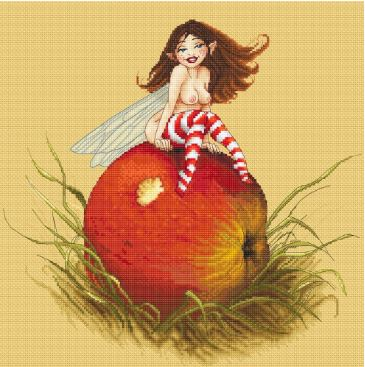 click here to view larger image of Apple Fairy - (Pascal Moguerou) (chart)