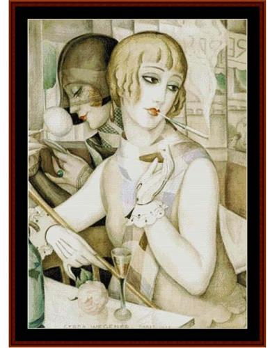 click here to view larger image of Apertif, The - Gerda Wegener (chart)